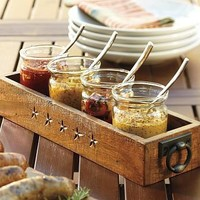 Range Rectangular Condiment Set | Pottery Barn