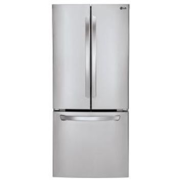 LG Electronics 30 in. W 21.8 cu. ft. French Door Refrigerator in Stainless Steel LFC22770ST at The Home Depot - Mobile
