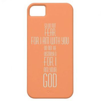 Isaiah 41:10 iPhone Case