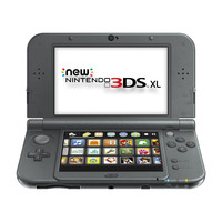 New Nintendo 3DS XL Black - Nintendo 3DS (Pre-owned)