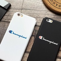 Champions phone case shell  for iphone 6/6s,iphone 6p/6splus,iphone 7/8,iphone 7p/8plus, iphonex