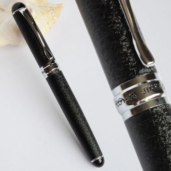 JINHAO X750 ROUGH SURFACE BLACK / SILVER ROLLER BALL PEN EXECUTIVE JINHAO 750 WHITE PURPLE PINK GREEN BLACK 15 COLORS SELECTIVE