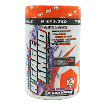 Axis Labs N'Ergized N'Gage Amino, 30 Servings