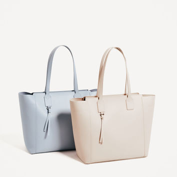 ZIP - UP TOTE-View all-BAGS-WOMAN | ZARA United States