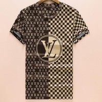 Louis Vuitton Fashion Casual Shirt Top Tee-36