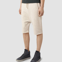 Mens Mainer Sweat Short (Oatmeal) | ALLSAINTS.com