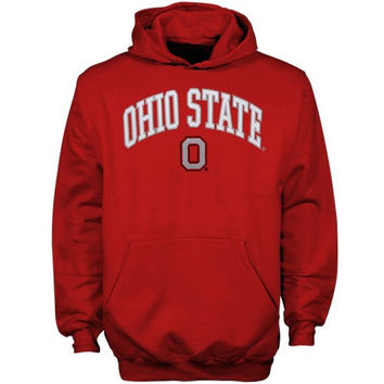 Ohio State Buckeyes Youth Scarlet Tackle Twill Hoodie Sweatshirt - http://www.shareasale.com/m-pr.cfm?merchantID=7124&userID=1042934&productID=525465812 / Ohio State Buckeyes
