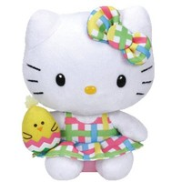 TY Sanrio Hello Kitty Beanie Babies Stuffed Plush Toy : With Yellow Chicken $6.99