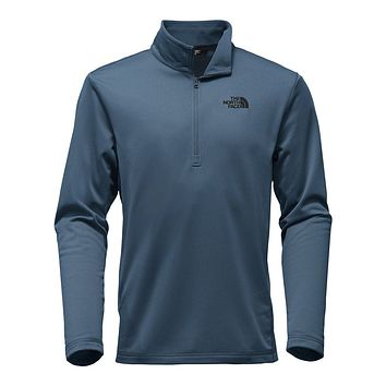 Men's Tech Glacier 1/4 Zip in Shady Blue by The North Face