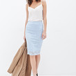 FOREVER 21 Lace Pencil Skirt