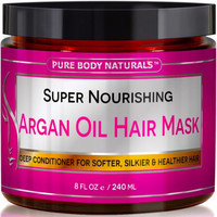 Argan Oil Hair Mask Deep Conditioner For Damaged and Dry Hair