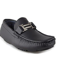 New Men's Kirk-01 H Buckle Slip On Moccasin Driving Shoes