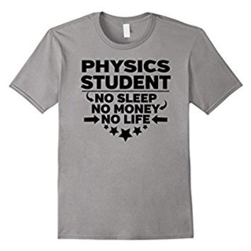 Physics Major Accountant College Student T-shirt