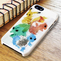 Pokemon Xv Anniversary Painting Bulbasaur Squirtle Charmande iPhone 6 | iPhone 6S Case