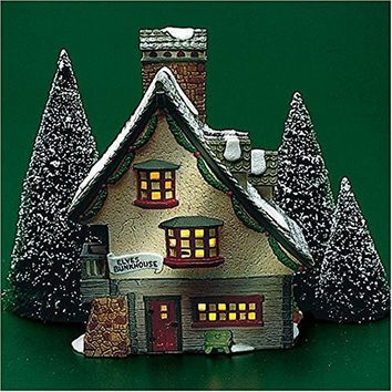 Department 56 North Pole Series - Elves Bunkhouse- Retired