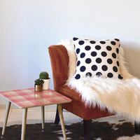 Lisa Argyropoulos Berry Sweet Checks Side Table
