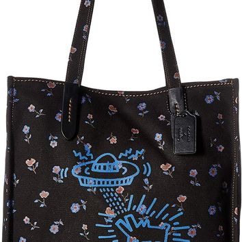 COACH Womens Coach X Keith Haring Tote