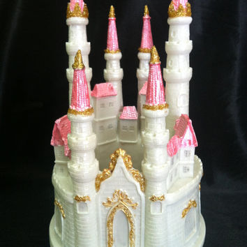 Princess Castle, Fairy Tale Cake Topper, Princess Cake Topper, Castle Cake Topper, Princess Birthday Decorations, Princess Party Decorations
