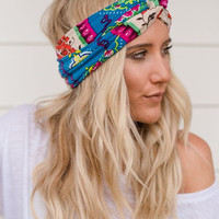 Sparrow Floral Head Wraps