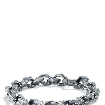 Men's David Yurman 'Armory' Small Link Bracelet - Silver