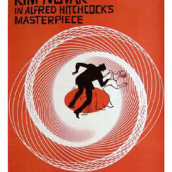 Vertigo Hitchcock Vintage Movie Poster