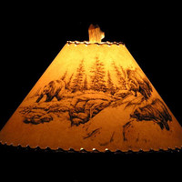 Shadow Bear Lamp Shade