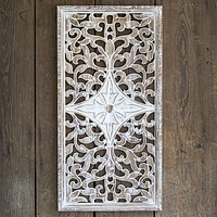 Architectural Wooden Wall Decor