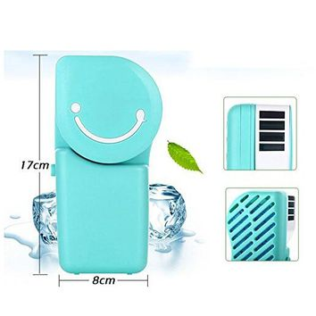 Cool Compact Air Conditioner Shape USB Rechargeable Battery