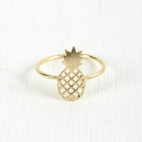Delicate Pineapple Ring