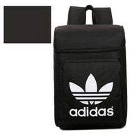"""""""Adidas"""" Fashion Casual Male Female Student Canvas College Winds Clover Couple Travel Movement Backpack"""