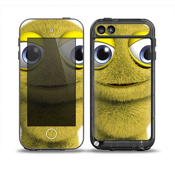 The Yellow Fuzzy Wuzzy Creature Skin for the iPod Touch 5th Generation frē LifeProof Case