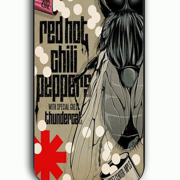 iPhone 5C Case - Rubber (TPU) Cover with red hot chili peppers Rubber Case Design