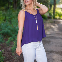 Game Day Ritual Tank, Purple
