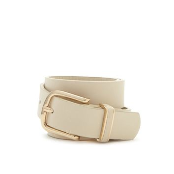 Classic Faux Leather Belt