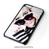 Miley Cyrus Bw Design for iPhone and iPod Touch Case