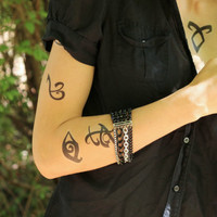 The Mortal Instruments Runes Temporary Tattoo Set