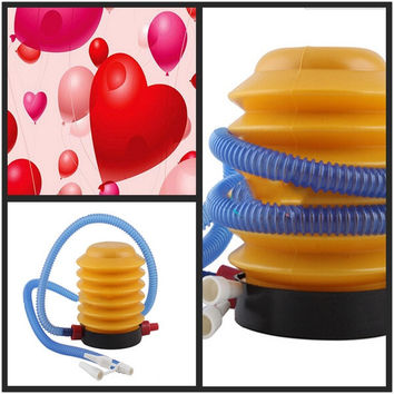 2015 New Balloon Swimming Inflatable Toy Yoga Ball Foot Air Pump Inflator OD = 1932593860