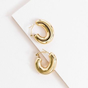 Gold Galore 14K Hoops