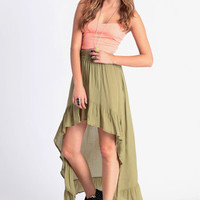 Personality High-Low Skirt By MINKPINK - $76.00 : ThreadSence, Women's Indie & Bohemian Clothing, Dresses, & Accessories