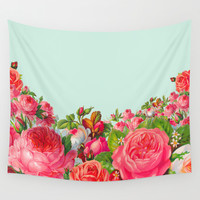 BOLDEST FLORAL Wall Tapestry by Allyson Johnson