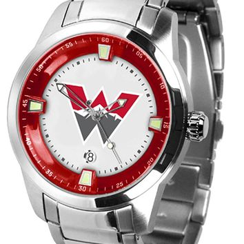 Western State Colorado University Mountaineers Titan Steel Watch