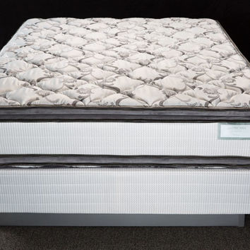 Rushmore Two Sided Full Size Pillow Top Mattress Set