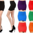 MINI SKIRT Seamless Stretch Tight Short Fitted Slip on OneSize