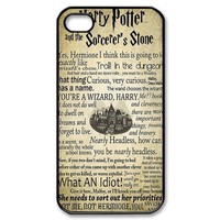 Diy Case Harry Potter Iphone 4/4S Case Hard Case Fits Sprint, T-mobile, AT&T and Verizon IPhone 4s Case 101574