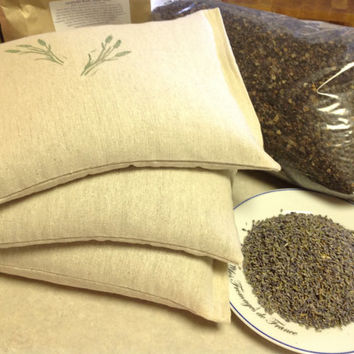 Buckwheat Hull Travel Pillow, All Natural Pillow, Organic Pillow, Meditation Pillow