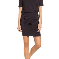 Michael Stars Ruched Body-Con Dress (Regular & Petite) | Nordstrom