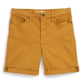 Girl's Burberry Relaxed Stretch Shorts