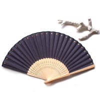 Hand painted Folding fan, Hand fan, spanish fan, japanese fans, One of a kind