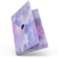 "Punk Pink Absorbed Watercolor Texture - 13"" MacBook Pro without Touch Bar Skin Kit"