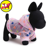 Petcircle 2017 New Arrival Dog Clothes Sunscreen Dog Clothes Soft Polyester Dog Raincoats For Chihuahua In Summer Freeshipping
